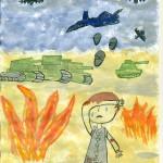 Война глазами детей Щербина Руслана 7 лет