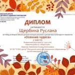 ЩЕРБИНА Руслана Осень